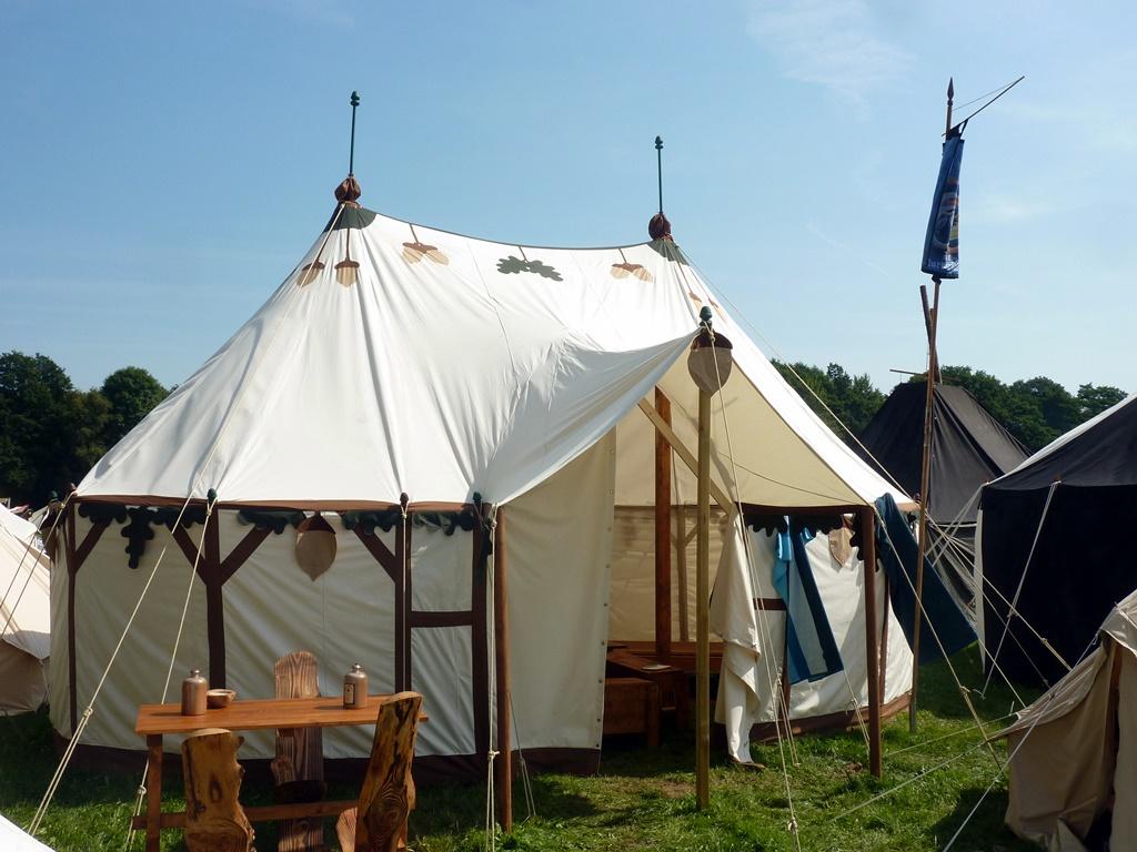 Mittelalter Zelt Gebraucht : Zelte mit stababspannung mittelalter zeltbau vom